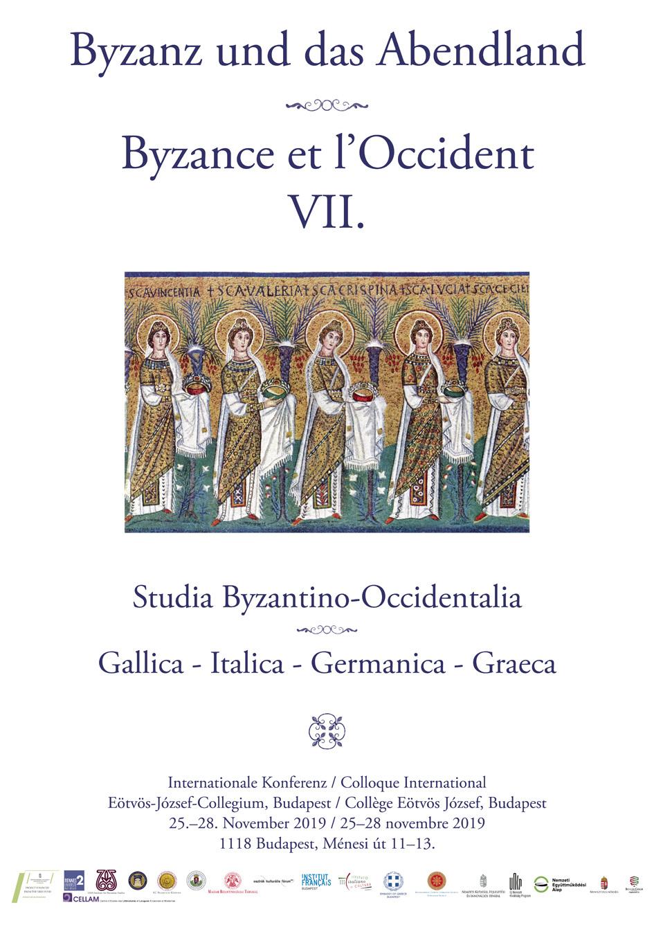 Byzance et l'Occident plakát
